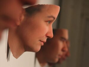 3d Printed Human faces Made with human DNA
